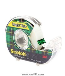 Scotch Magic Tape With Tape Dispencer 19mm X 8.8m