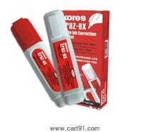 Kores Eraz-Ex White Ink Correction Pen Set