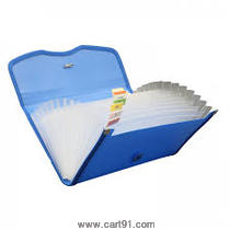 Solo Expanding Cheque Case (Elastic) - 12 Section