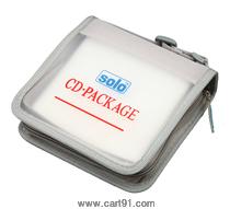 Solo Computer Cd Wallet, Zipper Cd 032