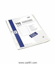 Solo 11-Holes Sheet Protector Pkt Of 100