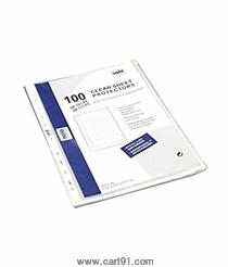 सोलो 11-होल्स शीट प्रोटेक्टर 100 चे पॅकेट