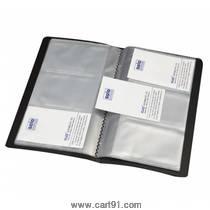 सोलो बिझिनेस कार्ड्स होल्डर - 120 कार्ड्स