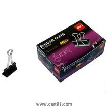 Deli Binder Clip Black 15mm Box (38566)