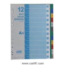Solo Separators-Divider (Set Of 20) -Uni Color