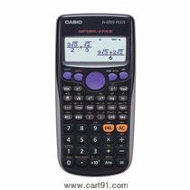 कॅसियो FX-82ES प्लस डिस्प्ले वैज्ञानिक गणना कॅल्क्युलेटर (ब्लॅक)