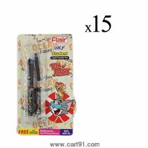 Flair Inky Student Liquid Fountain Pen (pack Of 15)