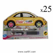 Flair Inky Cars Liquid Fountain Pen (pack Of 25)