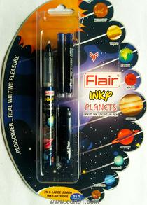 Flair Inky Planets Fountain Pen (pack Of 10)