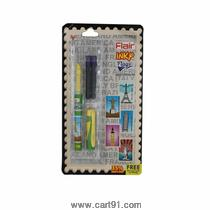 Flair Inky Flags Liquid Fountain Pen (pack Of 6)