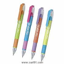 Flair Pop Gel Pen Blue Pack Of 10 Pens