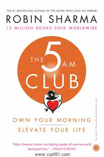 The 5AM Club Own Your Morning Elevate Your Life
