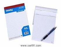 Oddy Writing Pad - 1/8 (33 No.) - 40 Sheets Set Of 20 Pads