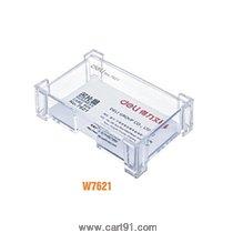 डेली बिझिनेस कार्ड धारक पारदर्शक (W7621)