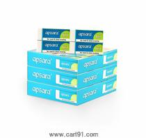 Apsara Non Dust Large Size Erasers Box Of 100