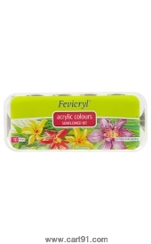 Fevicryl Acrylic Colors Sunflower Kit 150ml