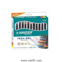Hauser Tech Gel 11 Ink Colours Set