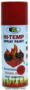 बोस्नी हाय-हीट रेसिस्टंट 400 डिग्री फेअर एरोसॉल स्प्रे पेंट 400 मिली लाल