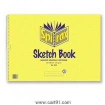 World One Sketch Book Spiral A3 (WPP1304)