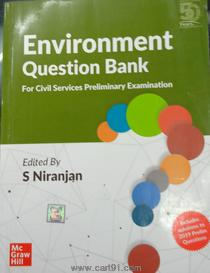 Environment Question Bank For Civil Services Preliminary Examination