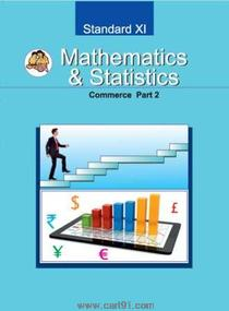 11th Mathematics And Statistics Part 2 (Commerce)