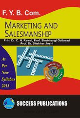 Marketing And Salesmanship