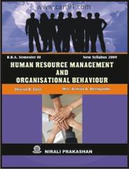 Human  Resource Management & Organisational Behaviour