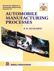 Automobile  Manufacturing Processes