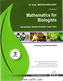 MATHEMATICS FOR BIOLOGISTS
