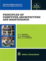 Principles Of Computer Architecture & Maintenance