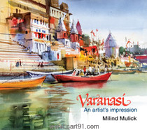 Varanasi - An artists impression
