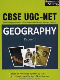 CBSE UGC NET Geography Paper II