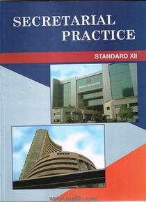 Secretarial Practice (English 12th Std Maharashtra Board)