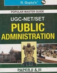 UGC NET SET Public Administration Paper II And III