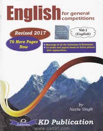 English For General Competitions Vol  I English