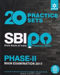 20 Practice Sets SBI PO Phase II Main Examination 2017