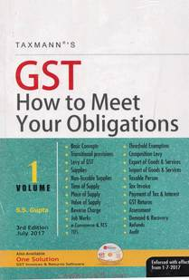 GST How To Meet Your Obligation Volume 1