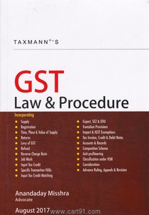 GST law And Procedure