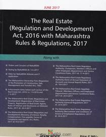 The Real Estate (Regulation And Development )Act 2016 With Maharashtra Rules And Regulation 2017