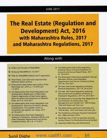 The Real Estate (Regulation And Development) Act 2016 With Maharashtra Rules 2017 And Maharashtra Regulations 2017