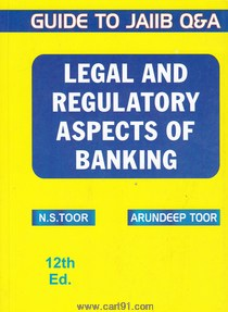 Legale And Regulatory Aspects Of Banking
