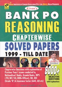 Bank PO Reasoning Chapter wise Solved Papers
