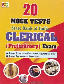 20 Mock Tests SBI Clerical ( Preliminary) Exam