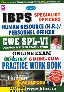 IBPS Specialist Officers In HR PO CWE SPL VI  Practice Workbook