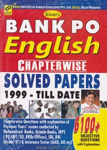 Bank PO English Chapterwise Solved Papers