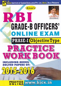 RBI Grade B Phase I Practice Work Book