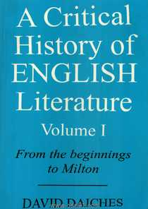 A Critical History Of English Literature