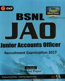 BSNL JAO Junior Accounts Officer Recruitment Examination 2017