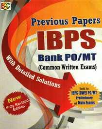 Previous Paper IBPS Bank PO MT  Common Written Exam