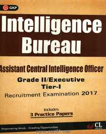 Assistant Central Intelligence Bureau Officer Recruitment Examination 2017